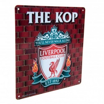"LIVERPOOL FC ""THE KOP"" TARGA"
