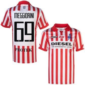 2020-21 VICENZA MAGLIA HOME SHIRT LOTTO - MEGGIORINI 69