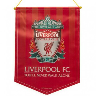 LIVERPOOL FC GAGLIARDETTO LARGE PENNANT