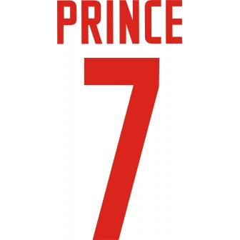 2020-21 MONZA NAMESET AWAY KIT NOME E NUMERO PRINCE 7