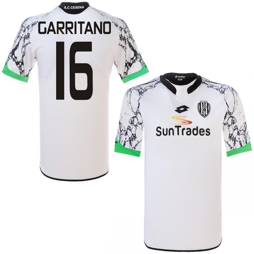 2015-16 CESENA MAGLIA HOME SHIRT LOTTO GARRITANO 16 - TAGLIA XL