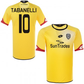 2015-16 CESENA MAGLIA THIRD SHIRT LOTTO TABANELLI 10