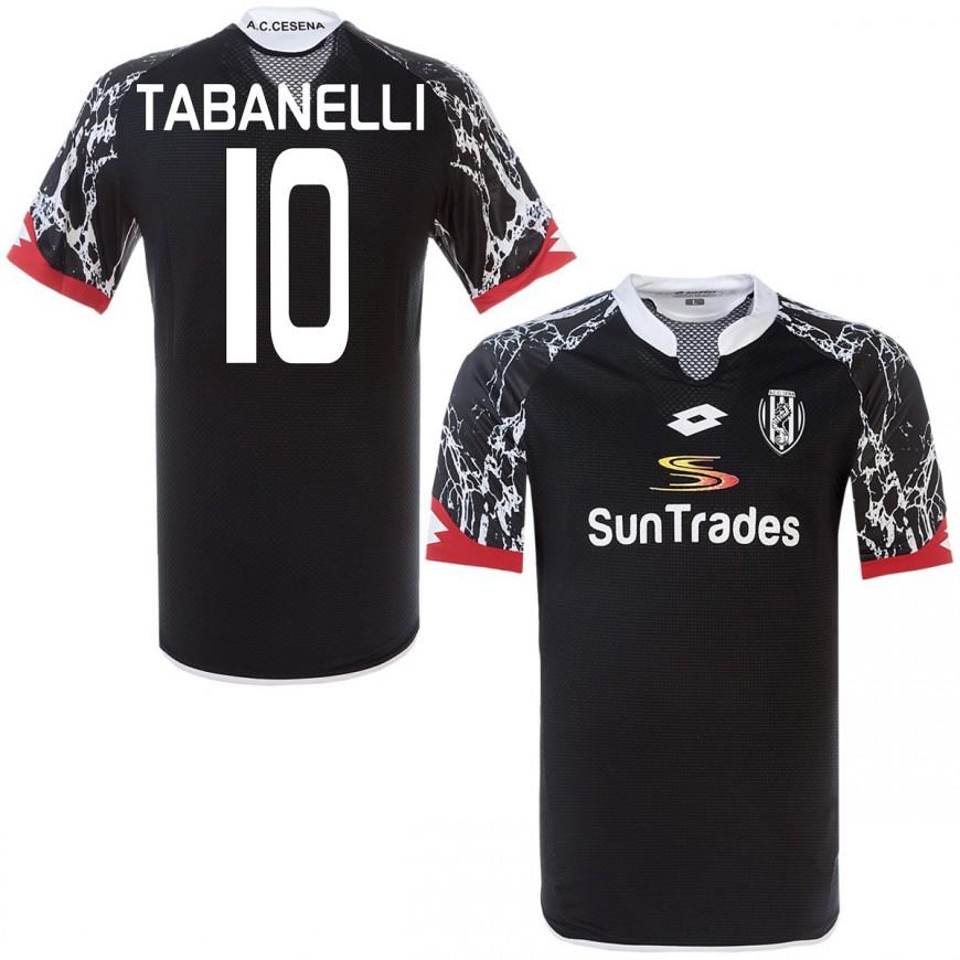 2015-16 CESENA MAGLIA AWAY SHIRT LOTTO TABANELLI 10