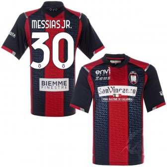 2020-21 CROTONE MAGLIA HOME SHIRT MESSIAS JR 30