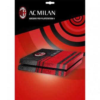 AC MILAN ADESIVO COVER PER PLAYSTATION 4