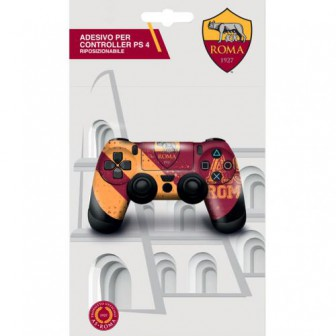 AS ROMA ADESIVO COVER PER CONTROLLER PS4