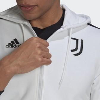 2021-22 JUVENTUS FC FELPA CON CAPPUCCIO ADIDAS
